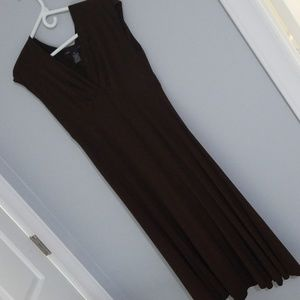 Brown flowy dress, size 10